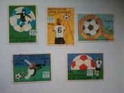 Почтовые марки разной тематики