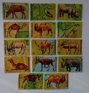 Почтовые марки разных тематик
