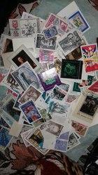 Почтовые марки Очень много разного